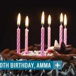 סיכום חגיגות יום ההולדת לאמה -אמריטפורי