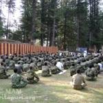 טכניקת המדיטציה של אמה – מועברת לכלל כוחות הבטחון ההודיים – 2.5 מיליון איש