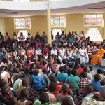 סוואמי שובאמריטה בביקור באפריקה