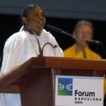 הנאום של אמה מתוך פרלמנט הדתות העולמי בברצלונה – 2004