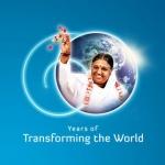חגיגות יום ההולדת 60 לאמה באשראם בהודו