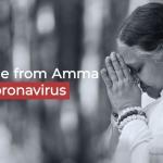 מסר מאָמַה על וירוס הקורונה